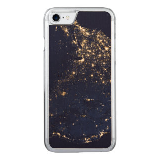 Nasa Lights from Space USA Carved iPhone 8/7 Case