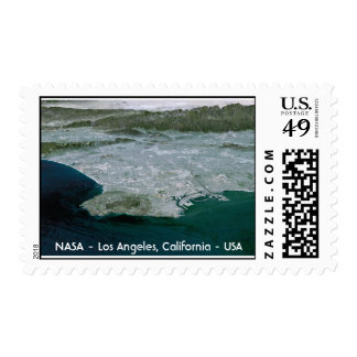 NASA Los Angeles, NASA - Los Angeles, Californi... Stamp