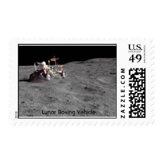 NASA Lunar Roving Vehicle Stamp