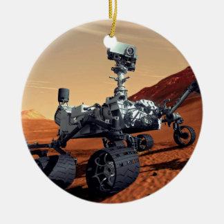 NASA Mars Curiosity Rover Artist Concept Ceramic Ornament