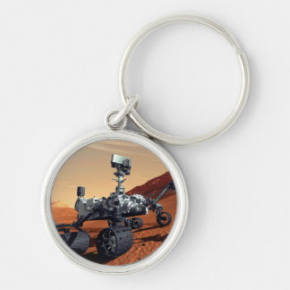 NASA Mars Curiosity Rover Artist Concept Keychain