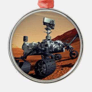 NASA Mars Curiosity Rover Artist Concept Metal Ornament