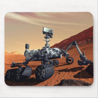 NASA Mars Curiosity Rover Artist Concept Mouse Pad