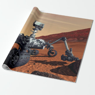 NASA Mars Curiosity Rover Artist Concept Wrapping Paper