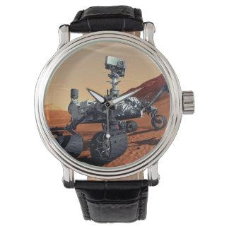 NASA Mars Curiosity Rover Artist Concept Wrist Watch