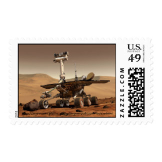 NASA - Mars Mission - Rover 1 Postage Stamps