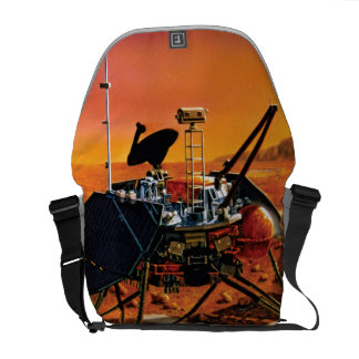 NASA Mars Polar Lander Artist Concept Artwork Courier Bag