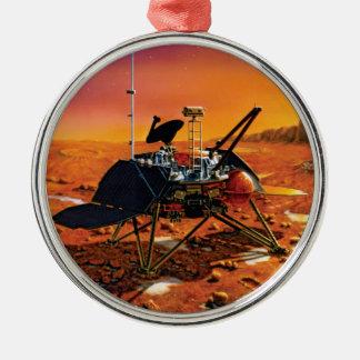 NASA Mars Polar Lander Artist Concept Artwork Metal Ornament