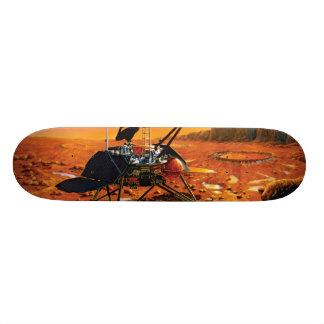 NASA Mars Polar Lander Artist Concept Artwork Skateboard