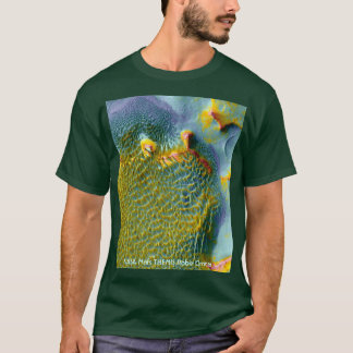 NASA Mars THEMIS Rabe Crater T-Shirt