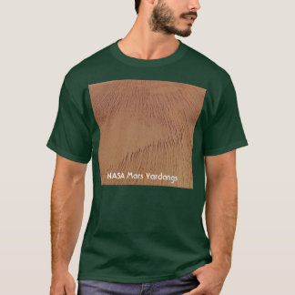 NASA Mars Yardangs T-Shirt