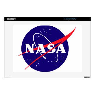 """NASA Meatball Logo 15"""" Laptop Decal"""