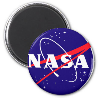 NASA Meatball Logo 2 Inch Round Magnet