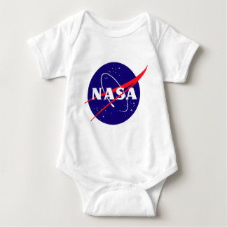 NASA Meatball Logo Baby Bodysuit