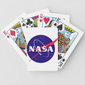 NASA Meatball Logo Bicycle Playing Cards