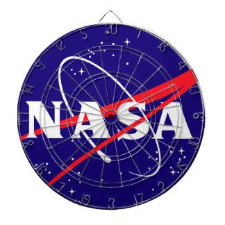 NASA Meatball Logo Dartboard