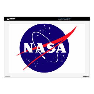 """NASA Meatball Logo Decal For 17"""" Laptop"""