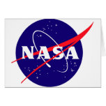 NASA Meatball Logo Greeting Card