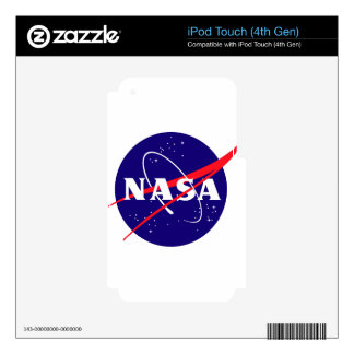 NASA Meatball Logo iPod Touch 4G Decals