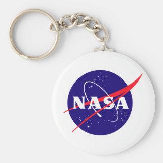 NASA Meatball Logo Keychain