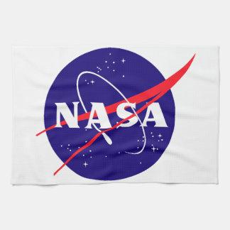 NASA Meatball Logo Kitchen Towels