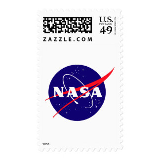 NASA Meatball Logo Postage Stamps