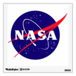 NASA Meatball Logo Room Stickers