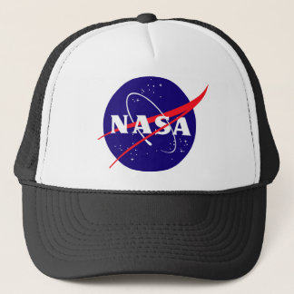 NASA Meatball Logo Trucker Hat