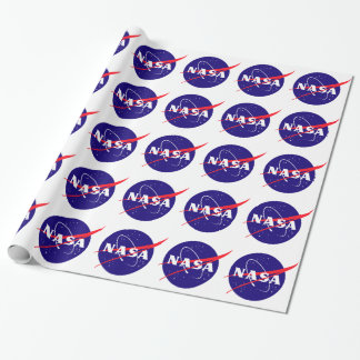 NASA Meatball Logo Wrapping Paper
