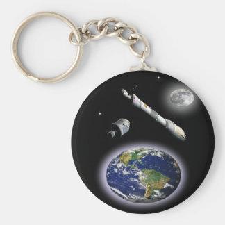 NASA Mission to mars Keychain