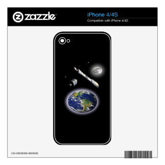 NASA Mission to mars Skins For iPhone 4
