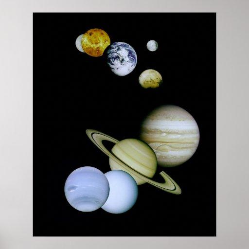 NASA Montage Posters