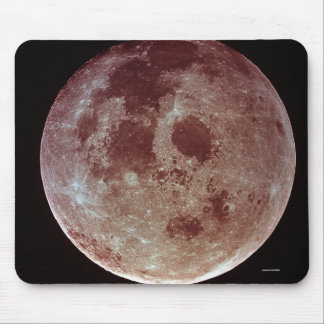 NASA Moon Image Mouse Pad