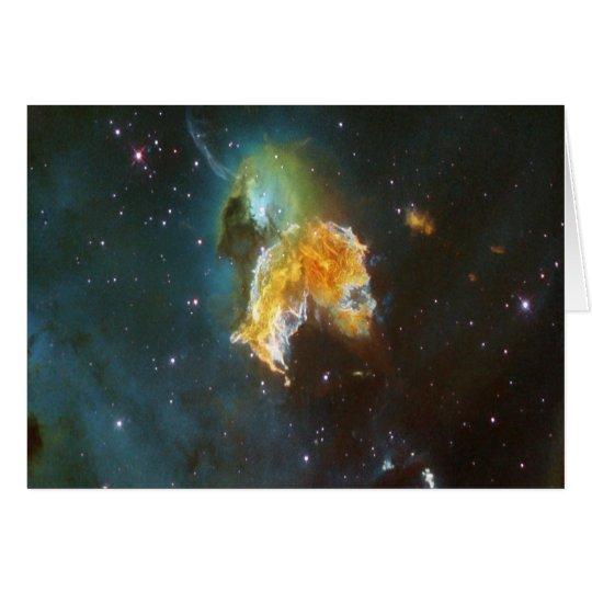 NASA N63A  nebula Card