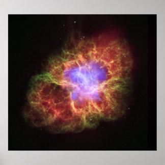 NASA - Nebulosa de cangrejo Impresiones