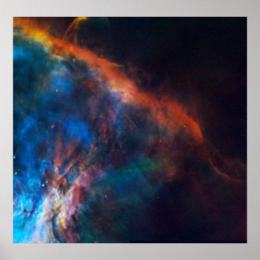 NASA - Nebulosa de Orión Póster