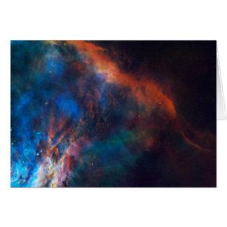 NASA - Nebulosa de Orión Tarjeta De Felicitación