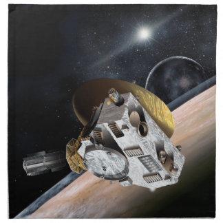 NASA New Horizons Artist Rendition Cloth Napkin