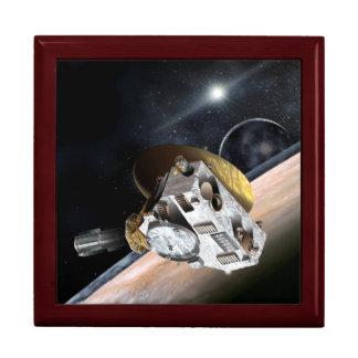 NASA New Horizons Artist Rendition Jewelry Box