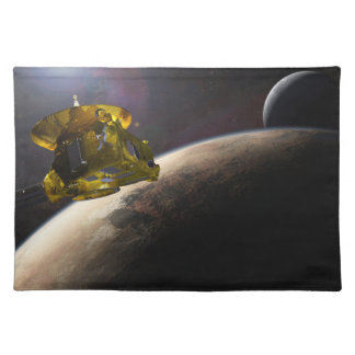 NASA New Horizons Craft in Space Cloth Placemat