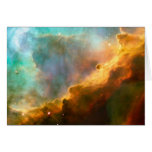 NASA - Omega/Swan Nebula (M17) Greeting Card