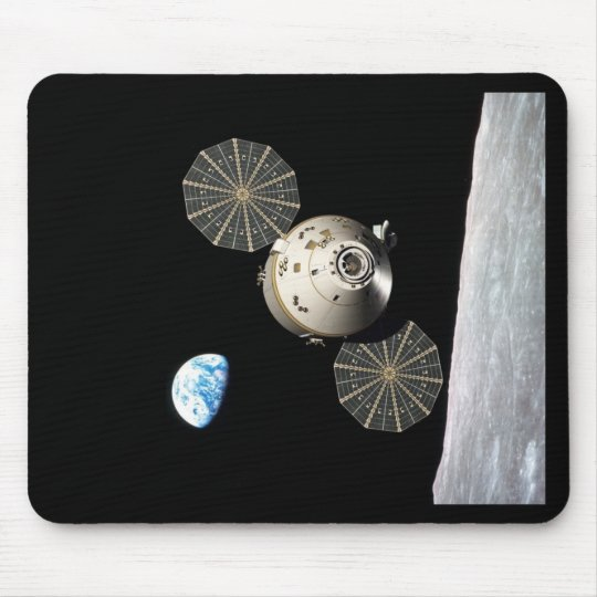 NASA Orion in Lunar Orbit Mouse Pad