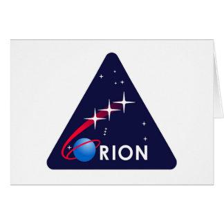 NASA Orion Logo Card