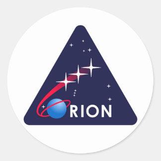NASA Orion Logo Classic Round Sticker