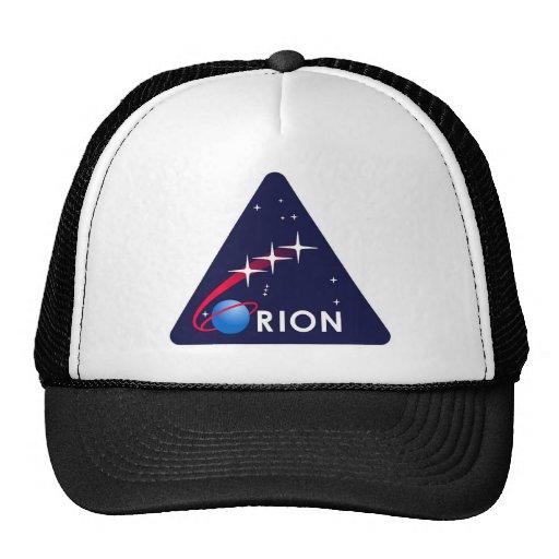 NASA Orion Logo Mesh Hats