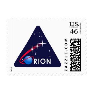 NASA Orion Logo Stamp