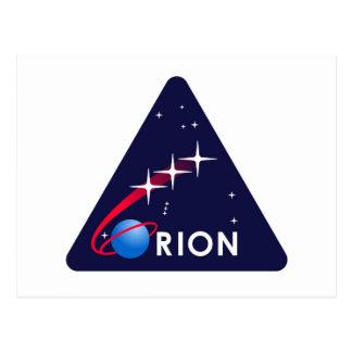 NASA Orion Logo Postcard