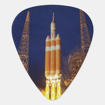 Nasa Orion Spacecraft Rocket Launch Guitar Pick by FinalFrontier at Zazzle
