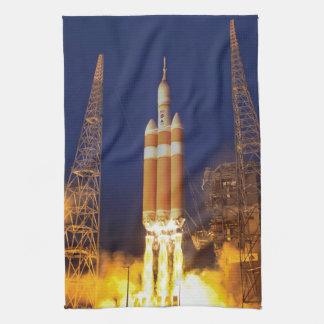 NASA Orion Spacecraft Rocket Launch Kitchen Towel