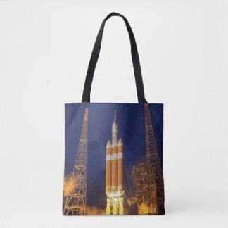 NASA Orion Spacecraft Rocket Launch Tote Bag